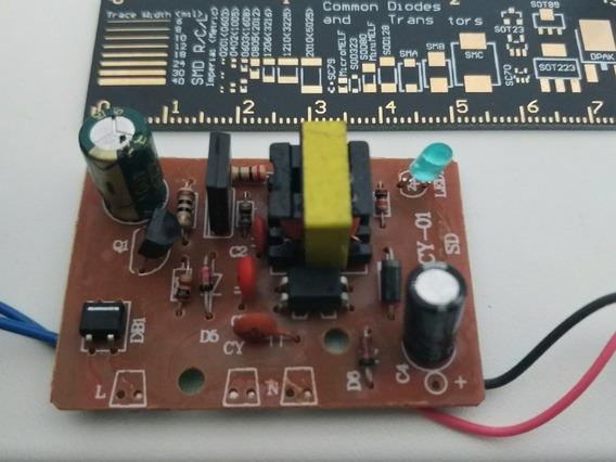 Módulo Fonte Alimentação Bivolt 12v 2a 2 Amperes 5x3 Cm
