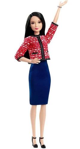 Muñeca Barbie Candidata Politica Aniversario Mattel Original