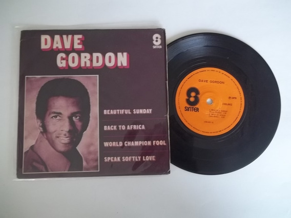 Vinil Compacto Ep - Dave Gordon - Beautiful Sunday