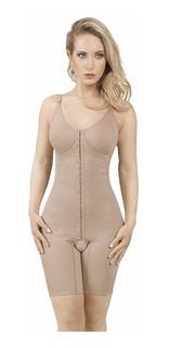 Modelador Yoga Com Pernas E Abertura Frontal 3019
