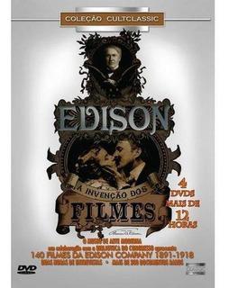Dvd Box Edison A Invenção Dos Filmes 4 Discos