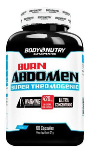 Burn Abdomen 60 Cápsulas Body Nutry