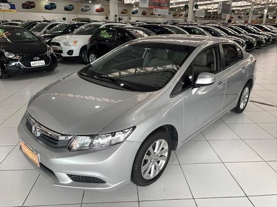 Honda Civic 1.8 Lxs 16v - 2013 - Prata