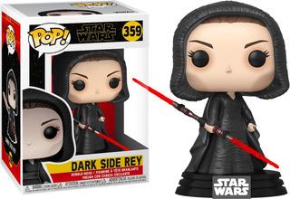 Funko Pop #359 Dark Side Rey Star Wars Episodio 9 Original !
