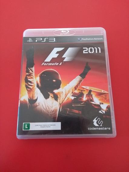 Fórmula 1 2011 Ps3 Mídia Física Funcionando Perfeitamente