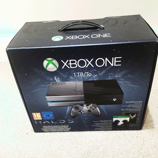 Consola Xbox One Version Halo 5 Guardians Usada 10 De 10
