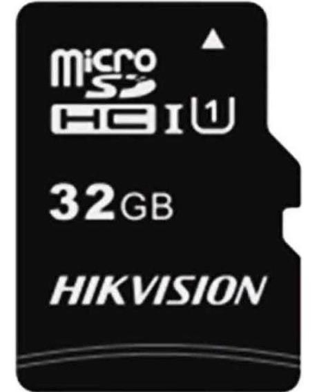 Cartão Memória Micro Sd Hikvision 32gb Com 1 Adpt Class 10