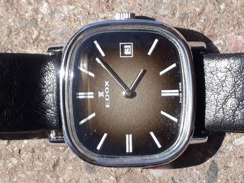 Dos Relojes Edox A Cuerda Originales Igual A Nuevos
