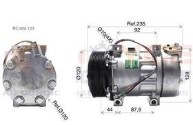 Compressor Scania Tracao 8x4 2008 Diante + Filtro Secador