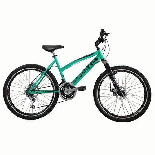 Imagen 1 de 1 de Bicicleta Dama Rin 26 Fdisco Suspensión 18 Cambios