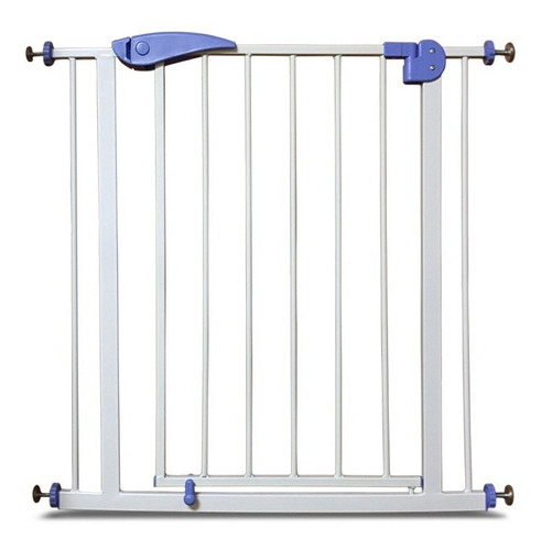 Puerta De Seguridad Niños Bebe Metalica Extensible Escalera Cuotas