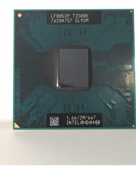 Processador Intel Core Duo T2300e 2m Cache 1.66 Ghz 667 Mhz
