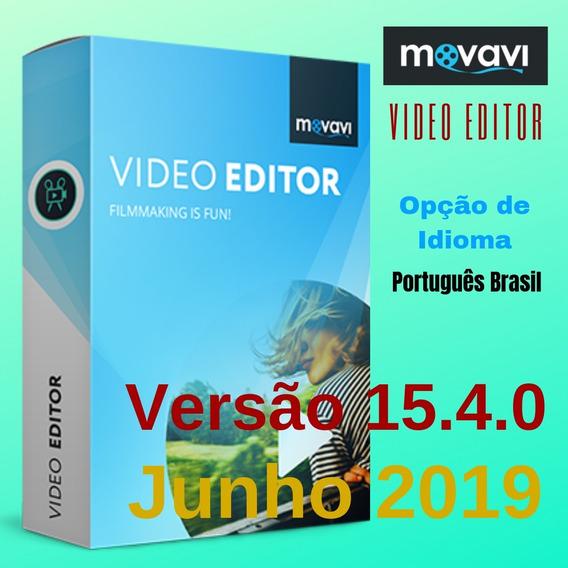 Movavi Video Editor 15.4.0 Versão Junho 2019 Ativação Patch
