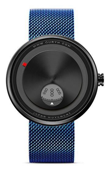 Sinobi 9743 Relógio Criativo Pulseira De Aço Inoxidável Rota
