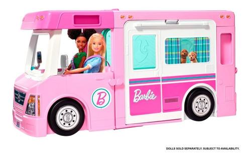Barbie Caravana Camper De Los Sueños Original De Mattel