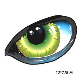 Novo Pvc Olhos Padrão Corpo Stickers Criador Corpo Colar Bbc