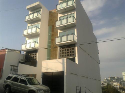 Imagen 1 de 12 de Departamento Excelentes Acabados, Piso De Madera Preciosa Vista, 63676