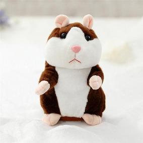 Hamster Rato Falante Brinquedo Pelúcia