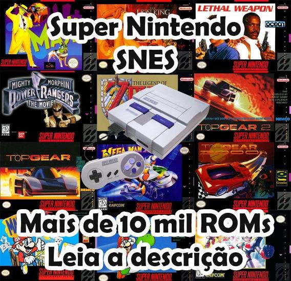 Super Nintendo Snes Emulador Rom Roms