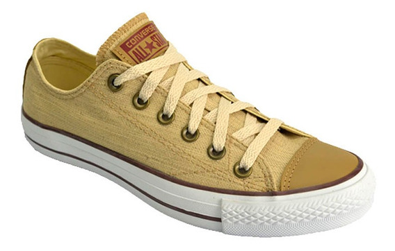 Zapatilla Converse All Star Low Lino Original Unisex Beige