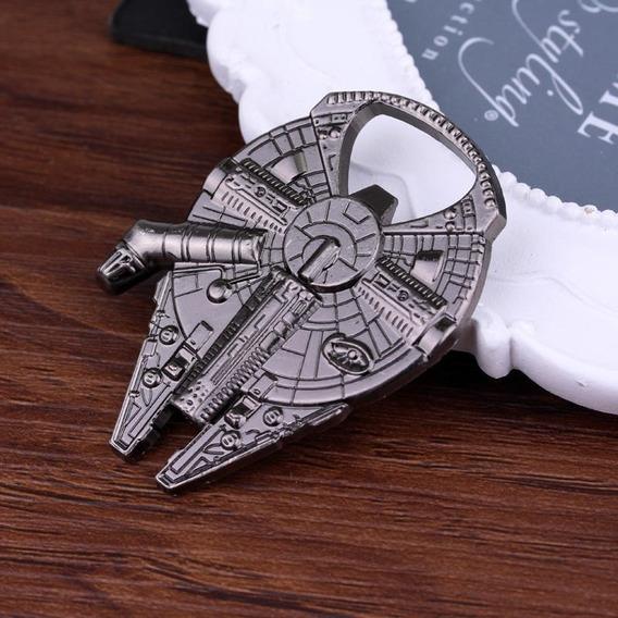 Abridor De Garrafa Star Wars Nave Falcon Millenium