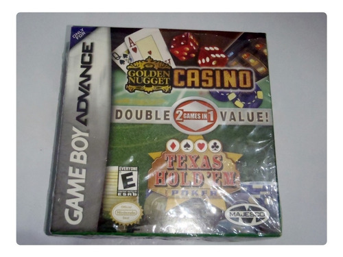 Golden Nugget Casino Y Texas Hold'em Para Game Boy Advance