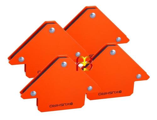 Escuadra Magnetica Para Soldar Soporte Herreria 11 Kg 3 PuLG X 4 Unidades