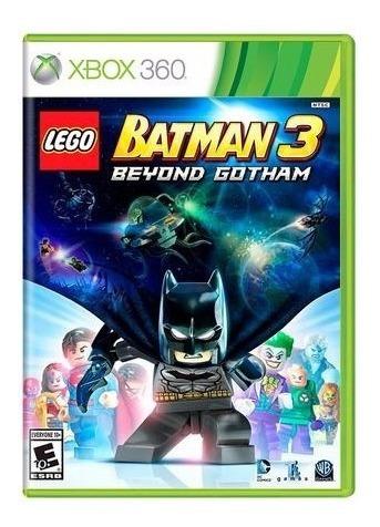Lego Batman 3 Beyond Gotham Xbox60 Mídia Física Lacrado