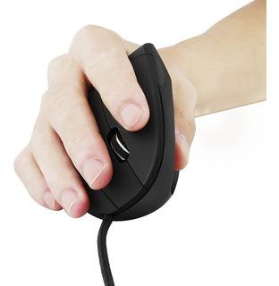 Mouse Ergonómico Vertical Led Con Luz De Fondo 3200 Dpi