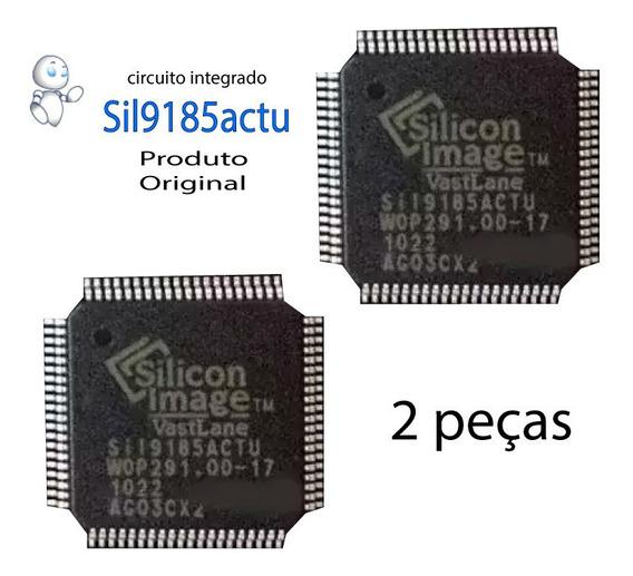 Circuito Integrado Smd Sil9185actu Sil 9185 Kit C/ 2 Peças