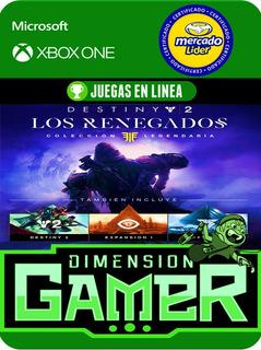 Destiny 2 Renegados - Xbox One Modo Local + En Linea