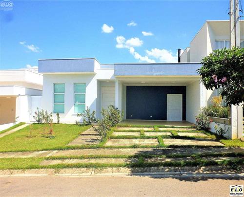 Imagem 1 de 17 de Ca03763- Um Charme De Casa Térrea Á Venda No Condomínio Residencial Alto De Itaici / Indaiatuba-sp - Ca03763 - 3233733