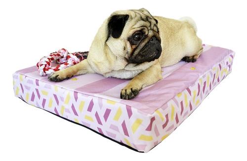 Imagen 1 de 7 de Cucha Perro Cama Para Perros 50x80 Espuma Princesa