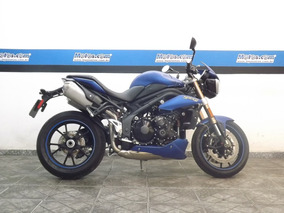 Triumph Speed Triple 1050 Abs Azul 2014