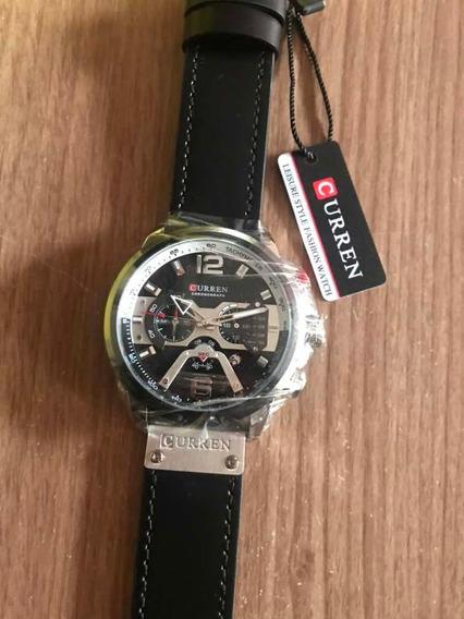Relógio Curren Original A Prova De Água Importador # Novo