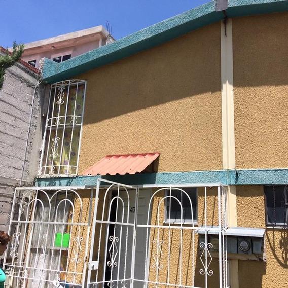 Casa En Portal Villa Chalco, Aceptamos Credito Infonavit
