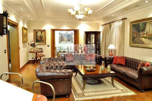 Edifício Crystal Pallace, Um Apartamento Por Andar, 464 M², 4 Vagas, Na Vila Bastos, Santo André. - Ap0055