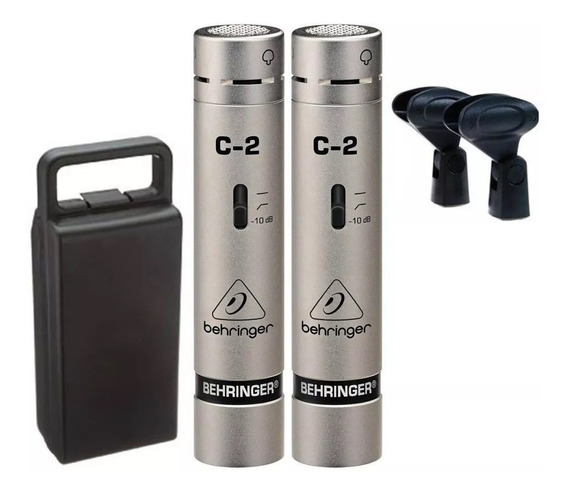 Microfone Behringer C2 Condensador Cardioide