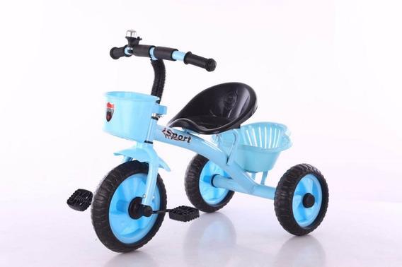 Triciclo Bebe Infantil Niños Asiento Caño Reforzado Envios