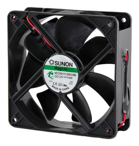 Cooler Fan Sunon 12v 120x120x38mm Magnetica Vapo 3100rp Htec