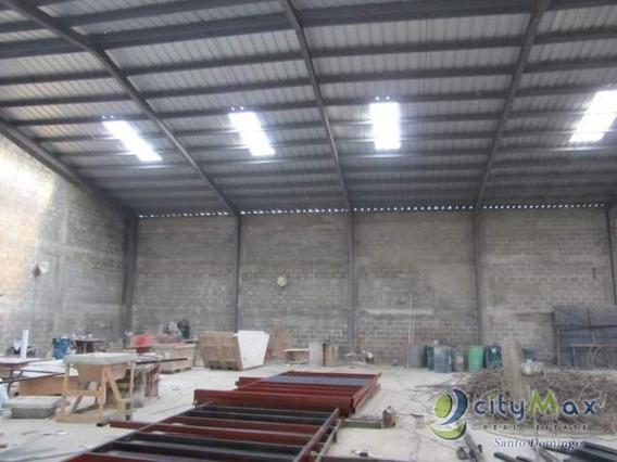 Alquilo Nave Industrial En Manoguayabo