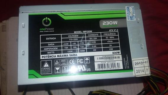 Fonte De Alimentação - 230w - One Power