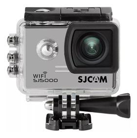 Câmera Sj5000 Wi-fi Full Hd Prata Original - Sjcam
