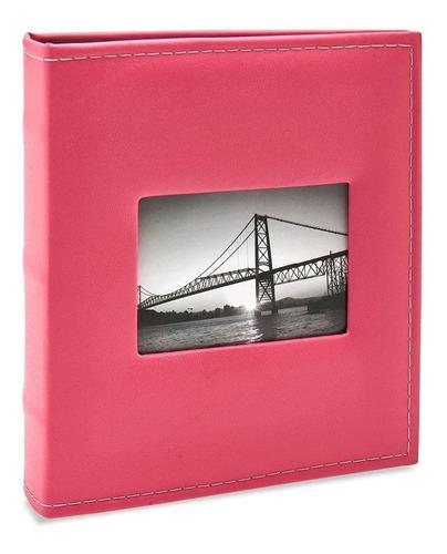 Álbum De Fotos 400 Fotos 10x15 Prestige Com Janela 403