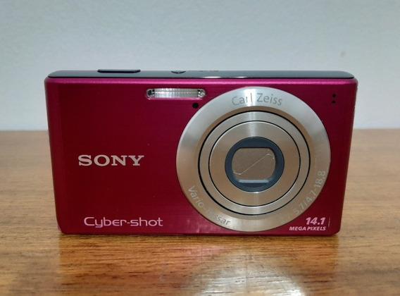 Câmera Cyber Shot Pink 14.1 Mp
