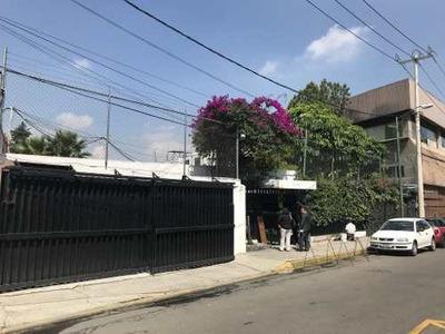 Renta Casa Con Uso De Suelo Colonia Huipulco, Calle Av. Acueducto