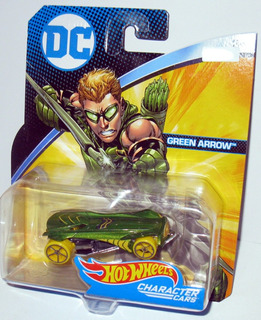 Dc Comics Green Arrow - 1/64 Hot Wheels