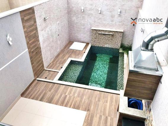 Sobrado Com 4 Dormitórios À Venda, 349 M² Por R$ 1.700.000,00 - Jardim - Santo André/sp - So0313