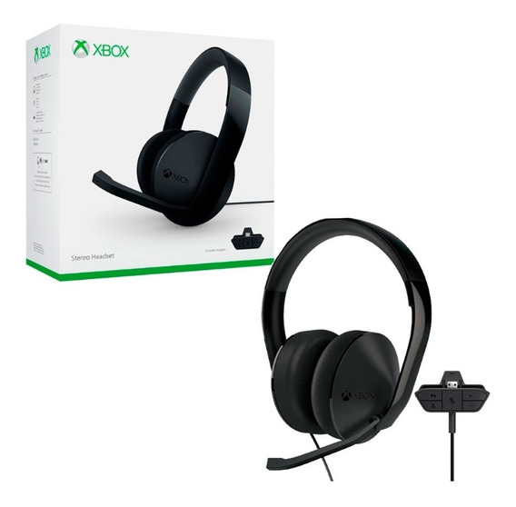 Headset Xbox One Stereo Acessorios Headsets E Fones - Xbox