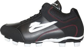 Zapatos Olmeca Beisbol Bastian X1 Negros